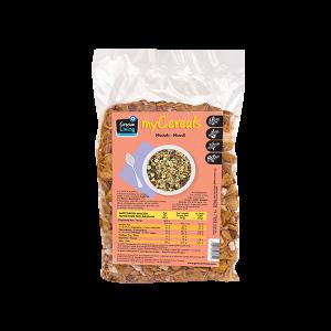 Νιφάδες Δημητριακών με Κακάο και γέμιση Κρέμας Φουντουκιού 250γρ